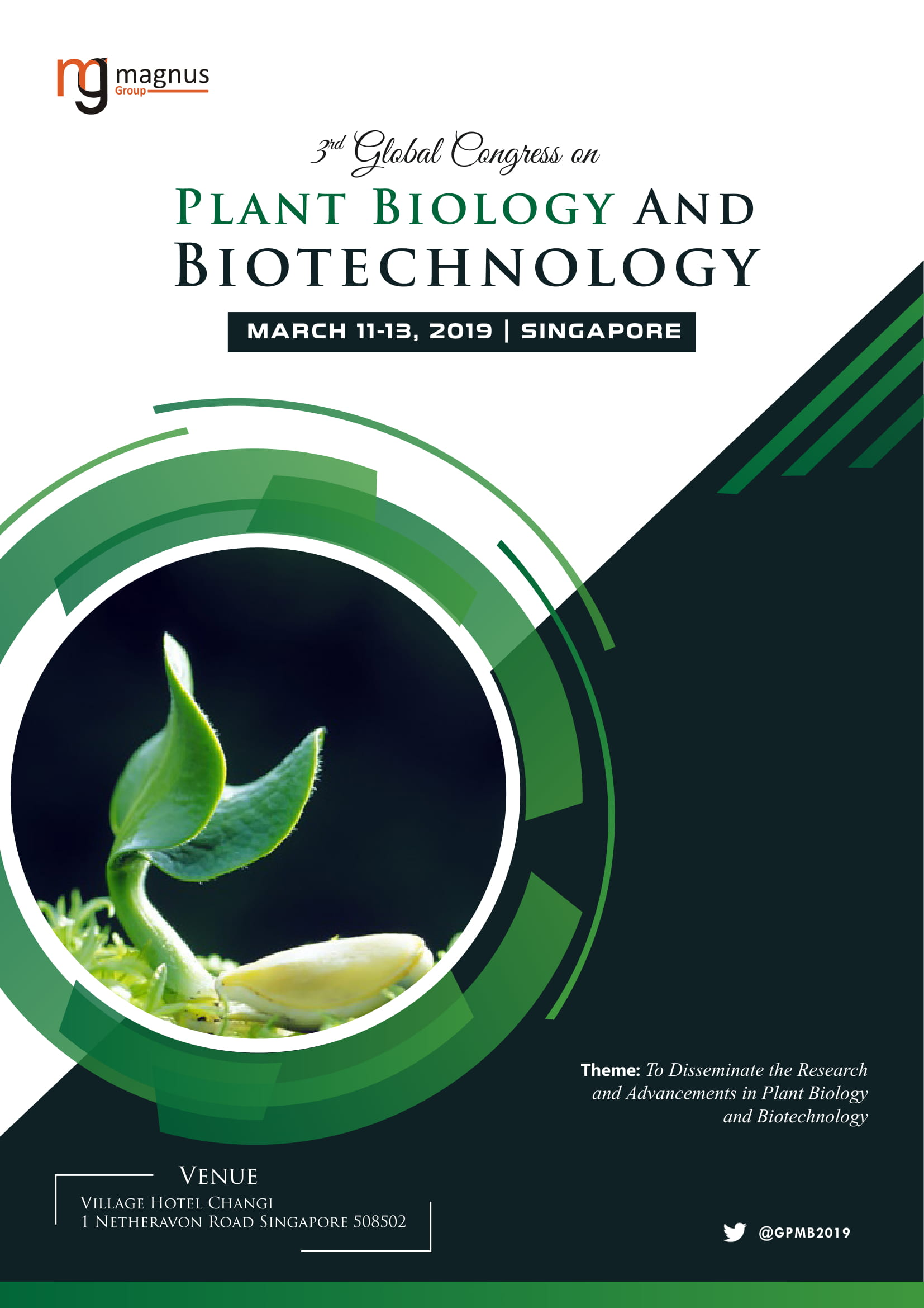 3rd Global Congress on Plant Biology and Biotechnology | Singapore Book