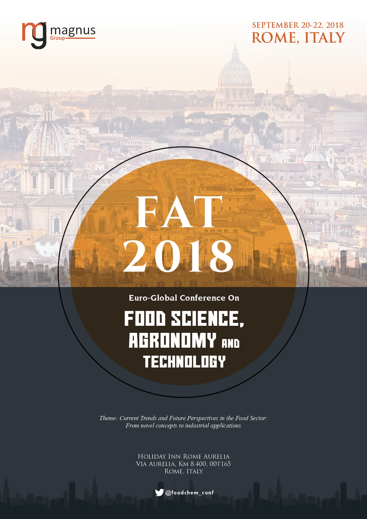 Euro-Global Conference on Food Science, Agronomy and Technology | Rome, Italy Book